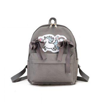 MENGHUO 2018 New Fashion Unicorn Art Backpack