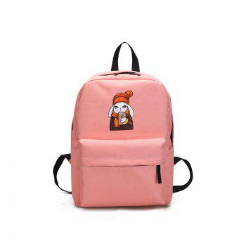Menghuo 2018 Simple Canvas Backpack Students School