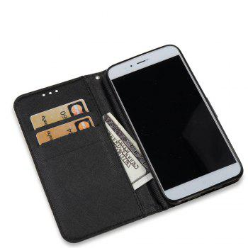 Case For Xiaomi 5X Skull 3D Painted PU Leather Phone Case - COLORMIX