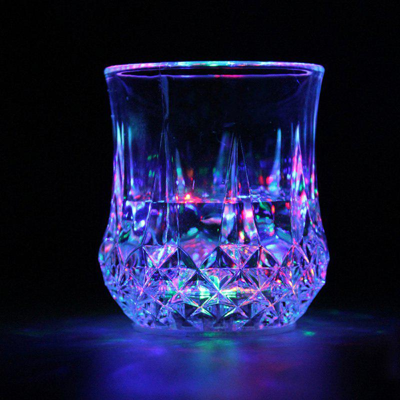 LED RGB Colorful Flashing Induction Light Beer Cup Plastic Water Cups Nightlight for Nightclub Bar Party Parties 253397901