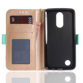 Cover Case for LG LV3 Make Butterfly PU+TPU Leather with Stand and Card Slots Magnetic Closure - MINT