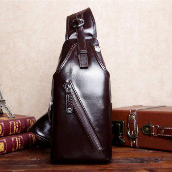 Fashion and New Business Men'S Chest Bag Lovers Backpack - BROWN SINGLE CODE