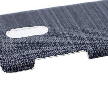 Cover Case for Redmi Note 4X / 4 Jeans Canvas Luxury PU Leather Skin Back Bag Fashion Dual Color - GRAY