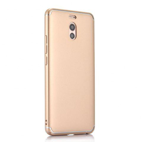 Ultra Thin Phone Case for Meizu M6 Note / Meilan Note 6 Matte PC Hard Back Cover - GOLDEN