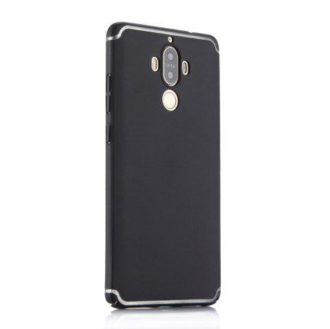 Ultra Thin Phone Case for Huawei Mate 9 Matte PC Hard Back Cover - BLACK