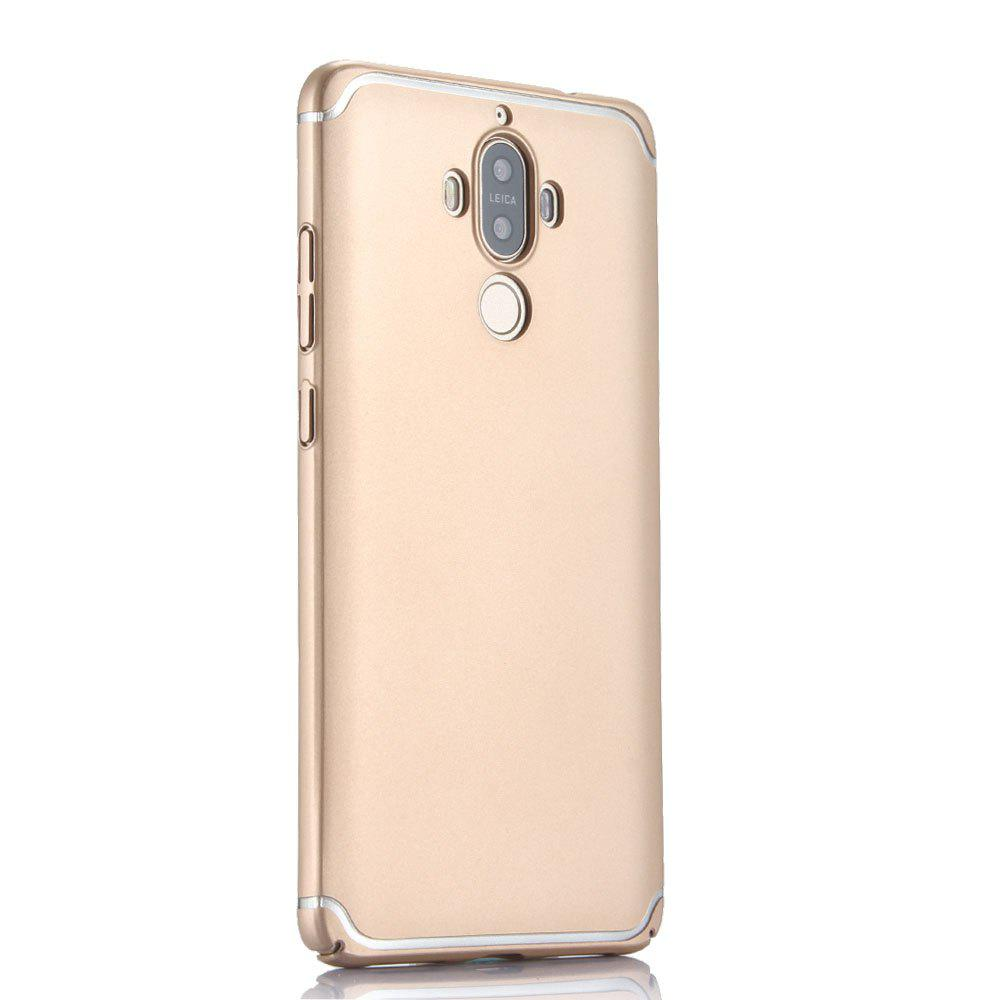 Ultra Thin Phone Case for Huawei Mate 9 Matte PC Hard Back Cover - GOLDEN