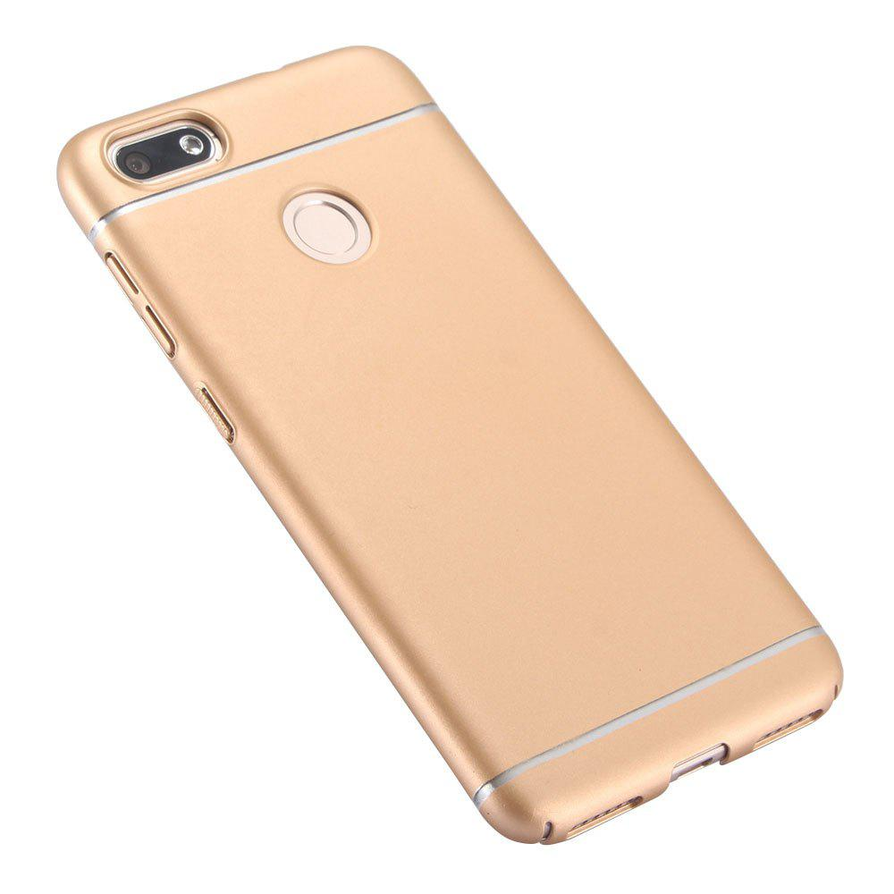 Ultra Thin Phone Case for Huawei Enjoy 7 / P9 Lite Mini Matte PC Hard Back Cover - GOLDEN