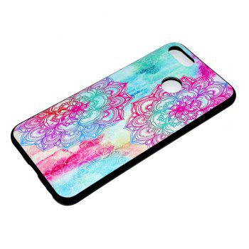 TPU Soft Case for Xiaomi 5X Red Flowers Pattern - COLORFUL