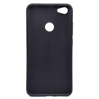 TPU Soft Case for Xiaomi Redmi Note 5A Pro Anger Pattern - BLACK