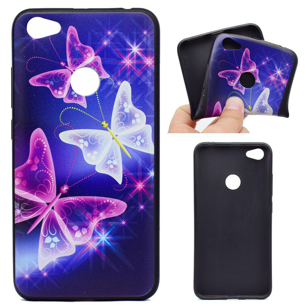 TPU Soft Case for Xiaomi Redmi Note 5A Pro Butterfly Pattern - COLORFUL