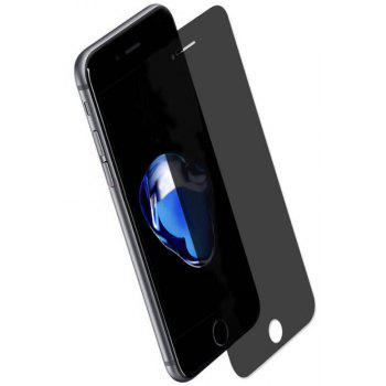 2Pcs iPhone 8 / 7 / 6S / 6 Privacy Screen Protector Anti-Spy Anti-Peep Full Coverage Tempered Glass Screen Cover Shield - TRANSPARENT