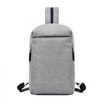 Convenient Chest Diagonal Package Multi-Functional Wear Backpack - GRAY GRAY