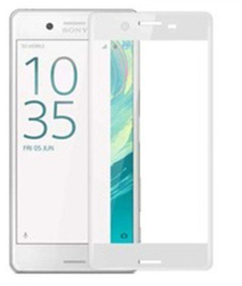 9H 2.5D High Definition Glass Protective Film For SONY XAPlus - WHITE