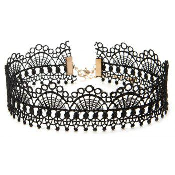 12 Pieces Black Vintage Gothic Tattoo Lace Choker Set Velvet Necklace with Tassel Pendant Charms Jewelry - COLORMIX