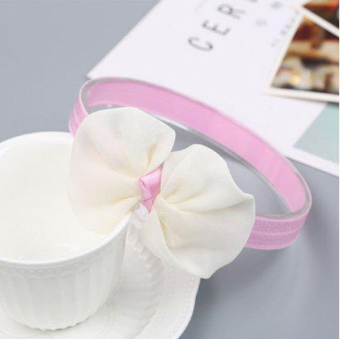 Infant Hair Decorated with Baby Hair Band - WHITE