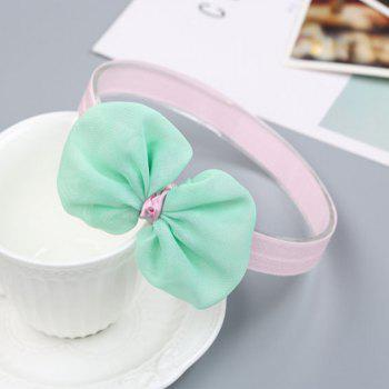 Infant Hair Decorated with Baby Hair Band - GREEN GREEN