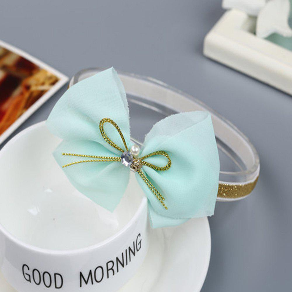 Chiffon Children Hair Band - GREEN