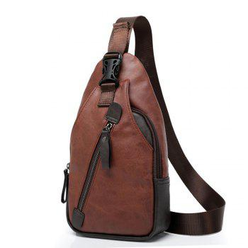 Shoulder Messenger Bag Fashion Trend -  BROWN