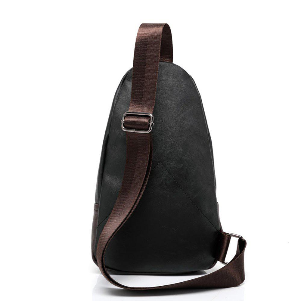 Shoulder Messenger Bag Fashion Trend - BLACK