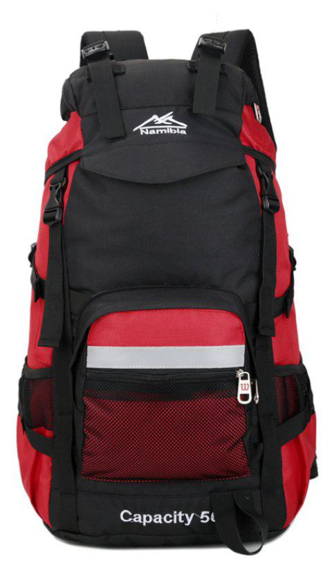 Big Fashion Travel  Backpack - RED