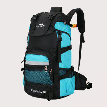 Big Fashion Travel  Backpack - AZURE