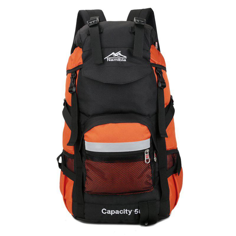 Big Fashion Travel  Backpack - ORANGE