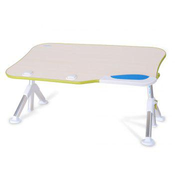 Adjustable Foldable Laptop Table with Bed or Sofa - GREEN GREEN