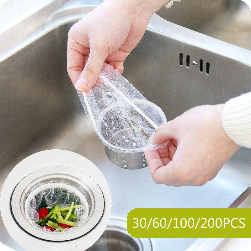 Hot New Kitchen Drain Filter Residue Filter Anti-clogging Sink Garbage Filter Screen - WHITE 30
