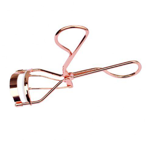 Professional Stainless Steel Extension Eyelash Lashes Curling Tool / Durable Curler - ROSE GOLD