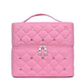 Multi-storey Cosmetic Bag Simple Portable Storage Box - PINK PINK