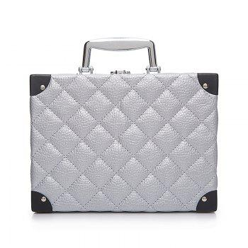 Storage Bag Portable Cosmetic Bag - SILVER SILVER