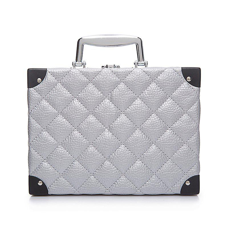 Storage Bag Portable Cosmetic Bag - SILVER