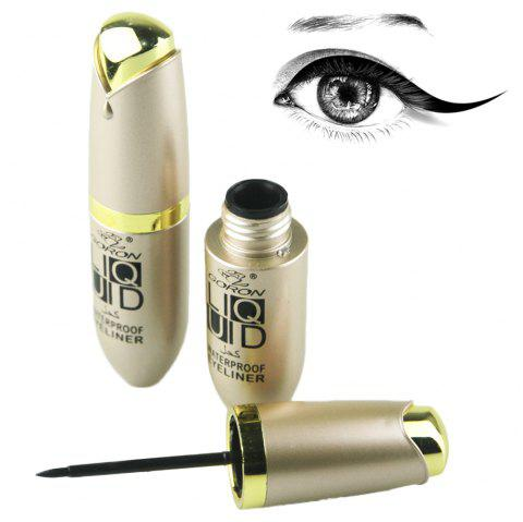 GORON 8082 Black Eyeliner Waterproof Eye Liner Pen - BLACK