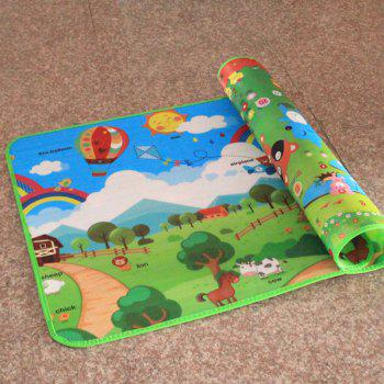 Moistureproof Children's Crawl Mat, Single And Double Baby Baby Game Carpet A Picnic Beach Foam Carpet -  COLORMIX