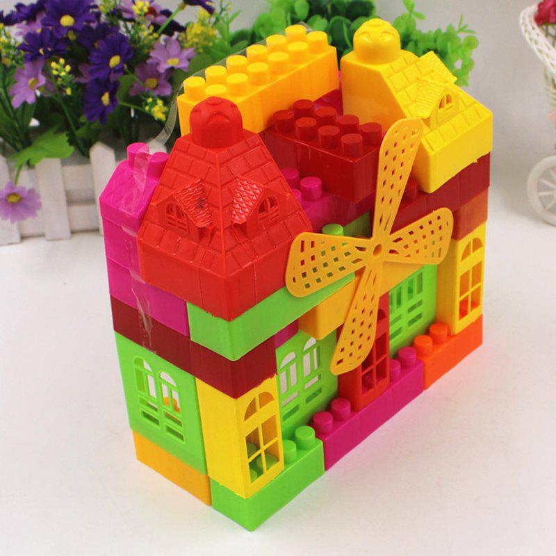 DIY Mega Blocks Toys  Castle Puzzle Toy - COLORMIX