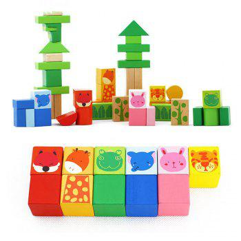 Children Early Childhood Education Big Block Toys - multicolorCOLOR