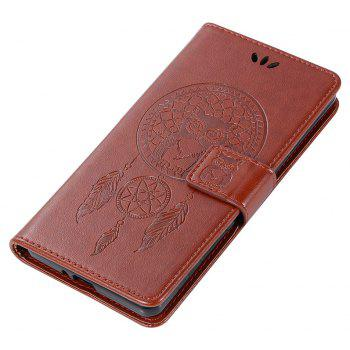 Owl Campanula Fashion Wallet Cover For Sony Xperia X Performance Case PU Flip Retro Leather Case Phone Bag With Stand - BROWN