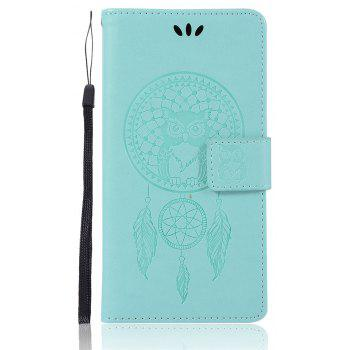 Owl Campanula Fashion Wallet Cover For Sony Xperia X Performance Case PU Flip Retro Leather Case Phone Bag With Stand - GREEN