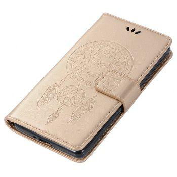 Owl Campanula Fashion Wallet Cover For Sony Xperia X Performance Case PU Flip Retro Leather Case Phone Bag With Stand - GOLDEN