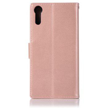 Owl Campanula Fashion Wallet Cover For Sony Xperia XZ / Sony XZs Case PU Flip Retro Leather Case Phone Bag With Stand - ROSE GOLD