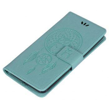 Owl Campanula Fashion Wallet Cover For Lenovo K6 / K6 Power Case Phone Bag With Stand PU Extravagant Flip Leather Case - GREEN