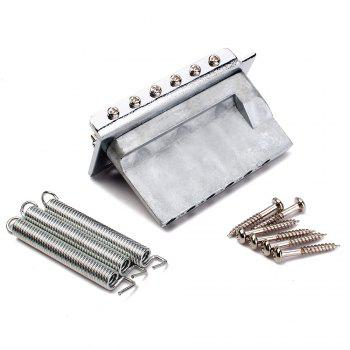 Tremolo Bridge for Fender Strat SQ Electric Guitar - SILVER