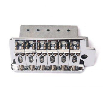Metal Tremolo Bridge for Stratocaster Guitar - SILVER