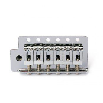 Electric Guitar Tremolo Bridge Single Locking System for Strat ST Style -  SILVER