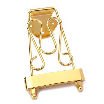 Trapeze Tailpiece for 6 String Archtop Jazz Guitar Parts - GOLDEN