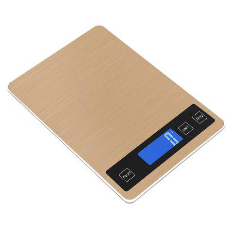 Ty-31 Waterproof Luminous Screen Thin High-Precision Kitchen Scale - EARTHLY GOLD