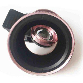 Ty-38 Wide-Angle Macro Camera Lens - ROSE GOLD