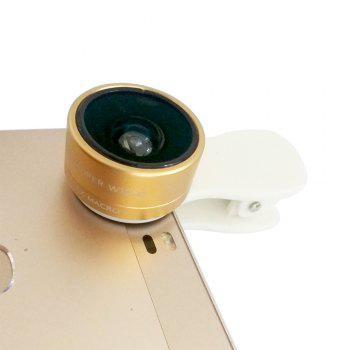 Ty-21 Fisheye Wide-Angle Macro Camera Lens - GOLDEN