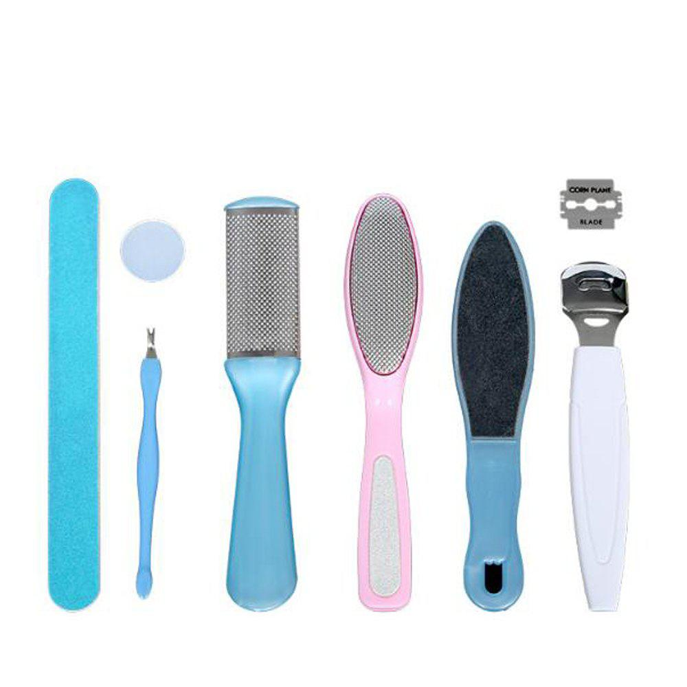 Pedicure Tool Set 8PCS - BLUE