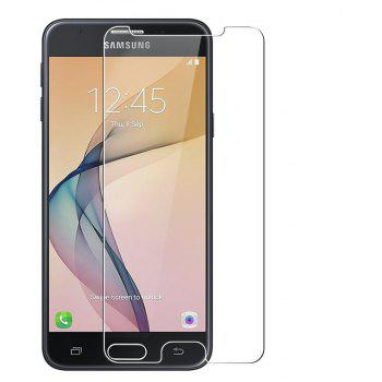 2PCS Screen Protector for Samsung Galaxy J5 Prime/On5 HD Full Coverage High Clear Premium Tempered Glass - TRANSPARENT